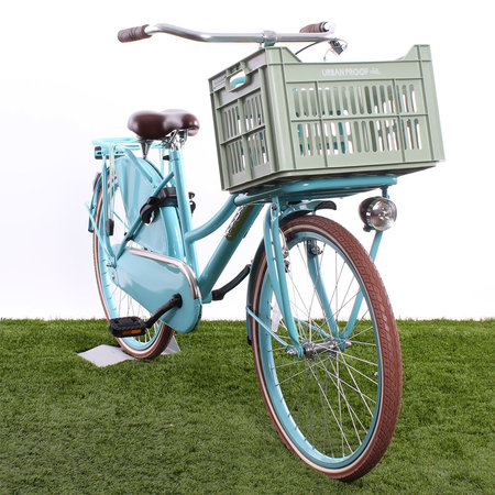 Urban Proof Fietskrat 30L Frosty Green - Recycled