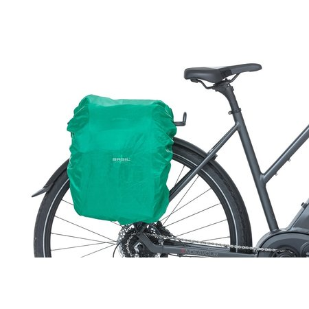 Basil Dubbele fietstas Discovery 365D 18L Zwart Melee