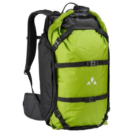 Vaude Rugzak Trailpack 27L Zwart/Groen