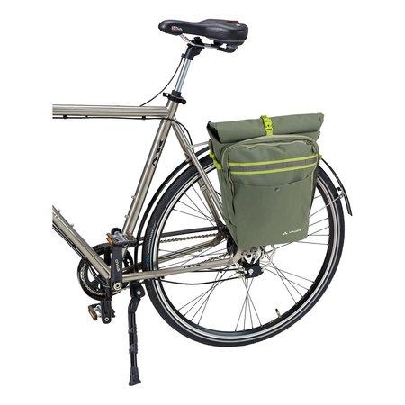 Vaude Enkele fietstas ExCycling Back 27+18L Cedar Wood