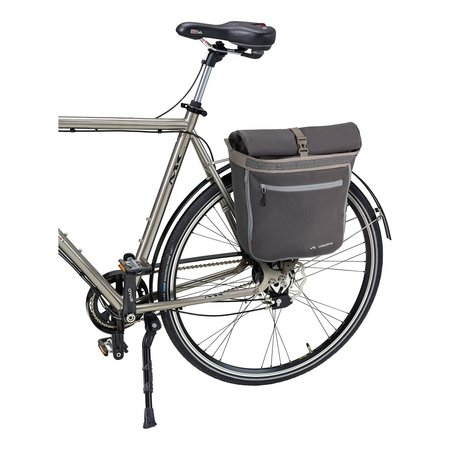 Vaude Enkele fietstas ShopAir Back 20+18L Raisin