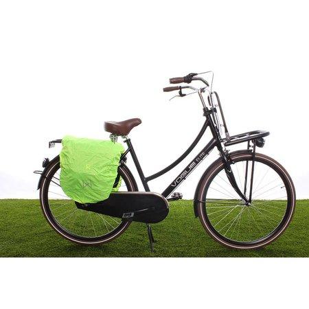 Willex Dubbele fietstas Systeemtas 20 liter Zwart