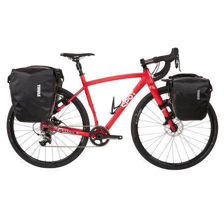 Thule Dubbele fietstas Shield Pannier Large 50L Geel