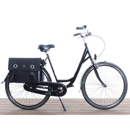 Willex Dubbele fietstas Bisonyl Tas Matzwart - 52 liter