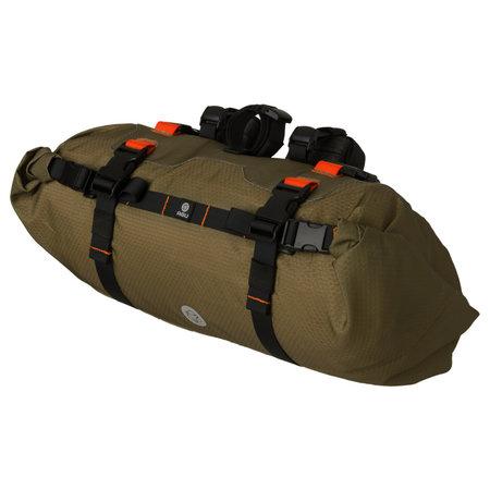 AGU Venture Handlebar-pack Olijfbruin - 17L