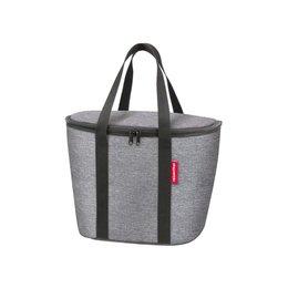 KLICKfix Reisenthel Basket Bag Koeltas Twist Silver
