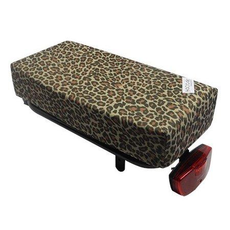 Hooodie Big Cushie Panthar - zacht fietskussentje voor op bagagedrager