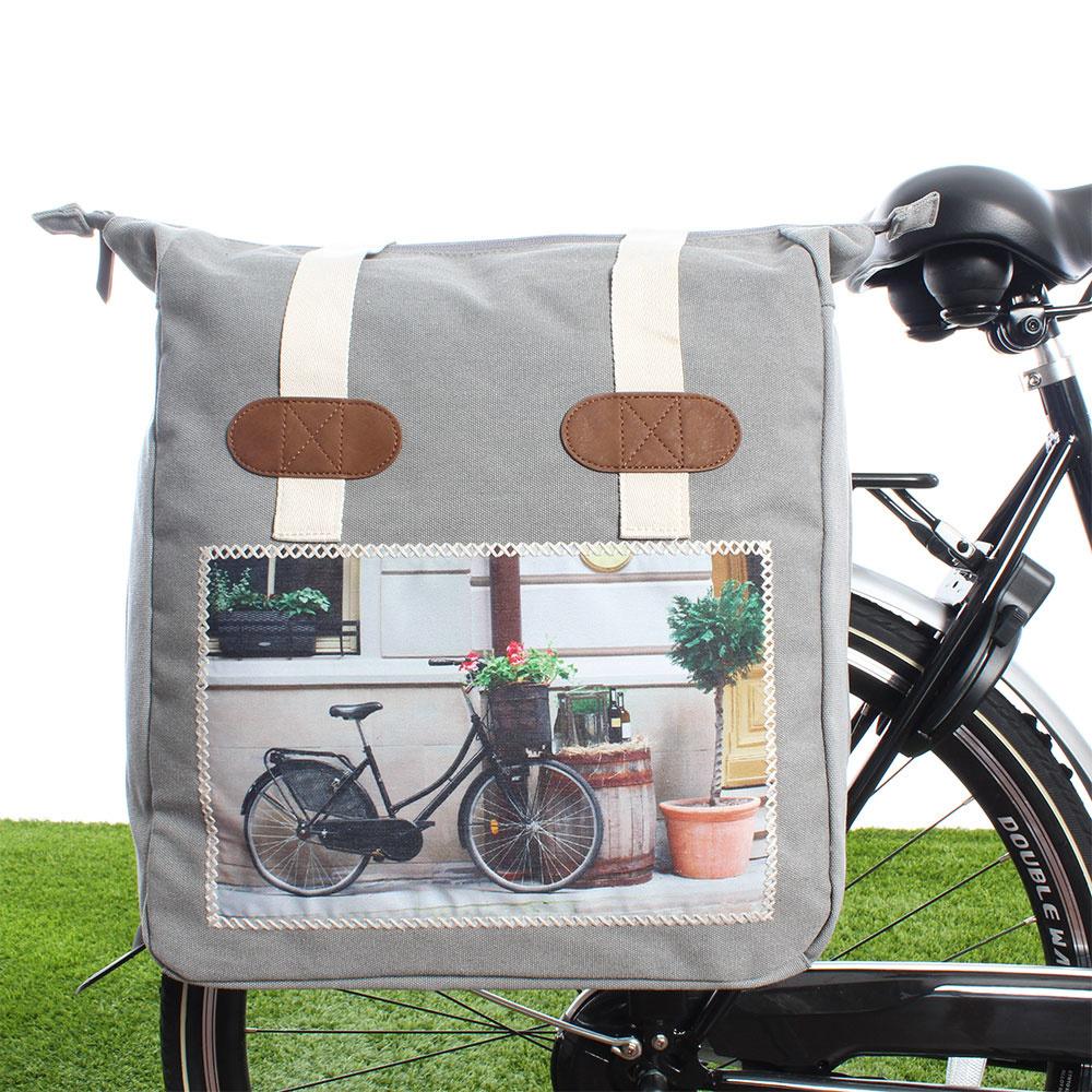 Vrolijke fietstassen