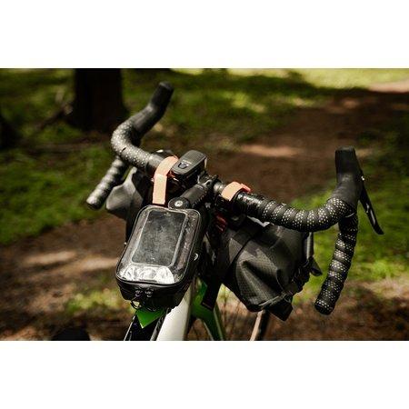 ONE Bikeparts Bovenbuistas 50 Zwart - 0,7L met smartphone venster