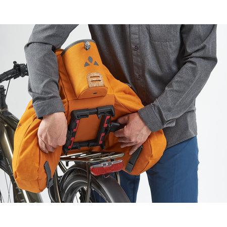 Vaude Bagagedragertas eSilkroad Plus 22L Black - e-bike