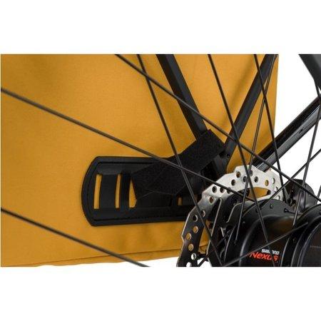 AGU Dubbele fietstas Urban Essentials DWR 36L Zwart- waterafstotend