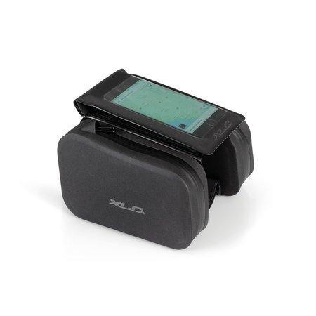 XLC Bovenbuistas BA-W36 met smartphonecover Zwart - waterdicht