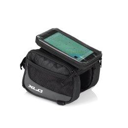 XLC Bovenbuistas BA-S97 met smartphonecover Zwart