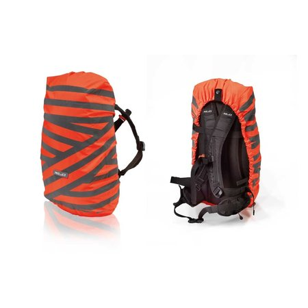 XLC Regenhoes BA-S96 voor rugzakken tot 25L - Oranje/grijs