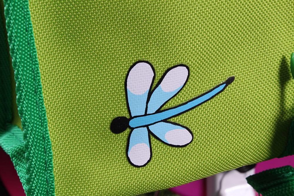 Kinderfietstas met opdruk