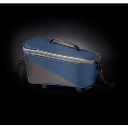 Racktime Bagagedragertas Talis blauw/grijs