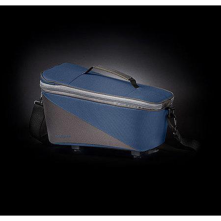 Racktime Bagagedragertas Talis blauw/grijs - 8L
