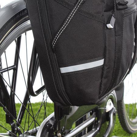 Willex Pakaftas en schoudertas S 1200 10L Zwart - Haken