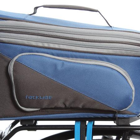 Racktime Bagagedragertas Talis Plus grijs/blauw - 8L + 7L