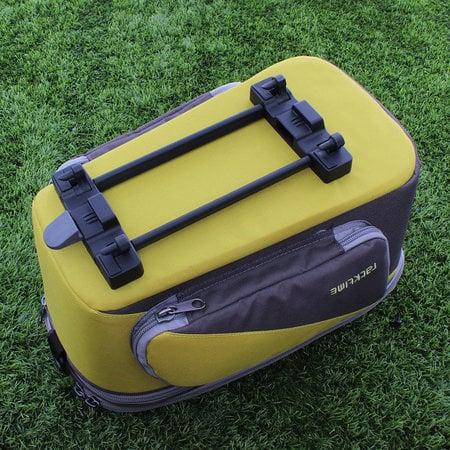 Racktime Bagagedragertas Talis Plus grijs/geel - 8L + 7L