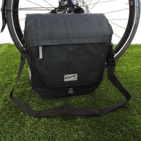 CONTEC Enkele fietstas Neo Single XL 16L Zwart/Grijs