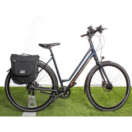CONTEC Dubbele fietstas Neo Double RT 25L Zwart/Grijs