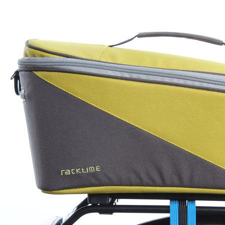 Racktime Bagagedragertas Tali lime/grijs - 8L