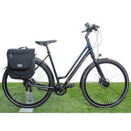 CONTEC Enkele fietstas Neo Single 12L Zwart/Neogreen