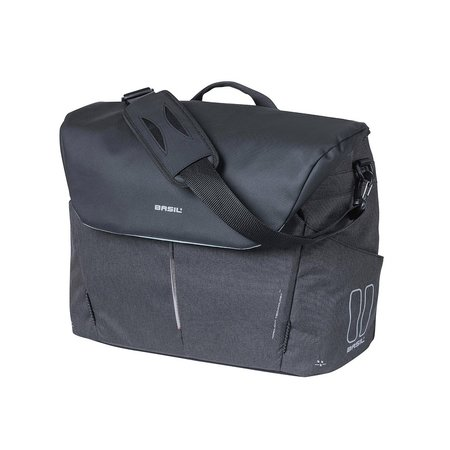 Basil B-Safe Commuter laptoptas Nordlicht 17L zwart
