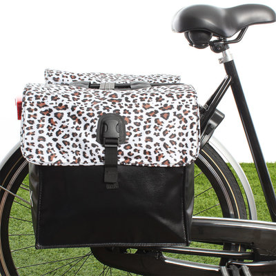 Beck Small Leopard White