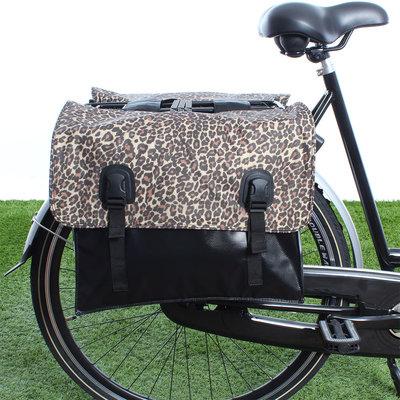 Beck Dubbele fietstas Classic Panthar
