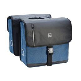 Willex Dubbele Businesstas 40L Blauw/Zwart