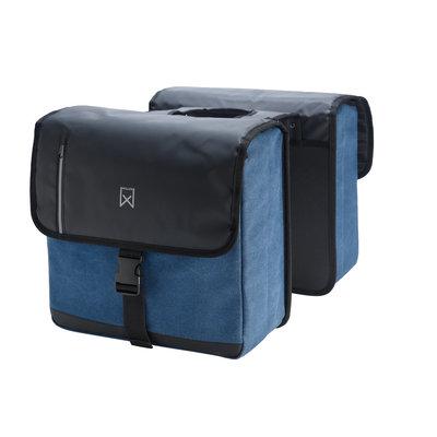 Willex Dubbele Businesstas 46L Blauw/Zwart