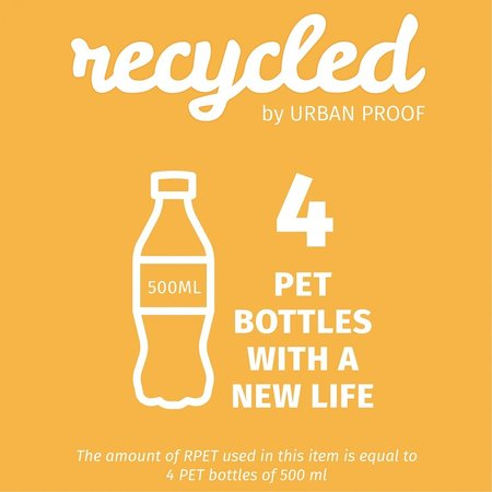 Urban Proof Zadeldekje Recycled Zwart/Grijs