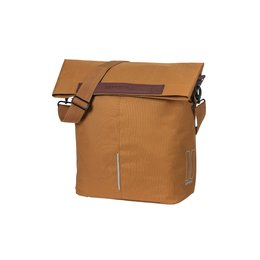 Basil Enkele fietstas City Shopper Camel Brown 16L