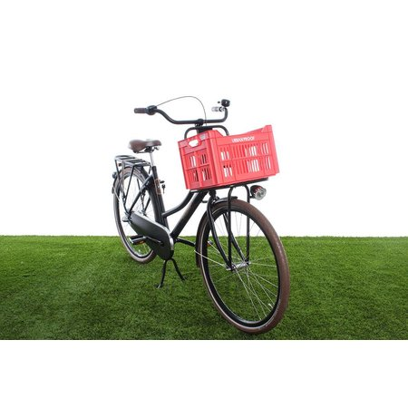 Urban Proof Fietskrat 30L Lobster Red - Recycled