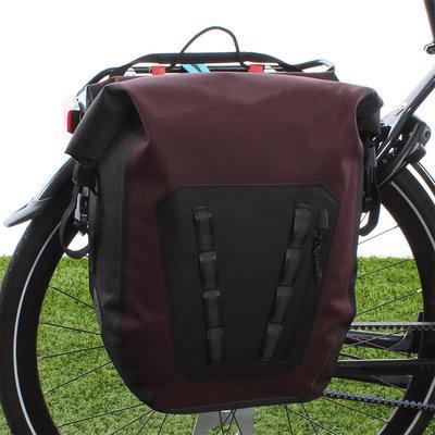 AGU Enkele fietstas Shelter Tech Large 21L Rood