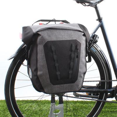 AGU Enkele fietstas Shelter Tech Large 21L Grijs
