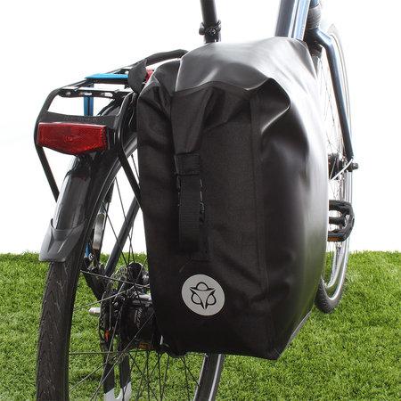 AGU Enkele fietstas Shelter Clean Large 21L Zwart - Waterdicht
