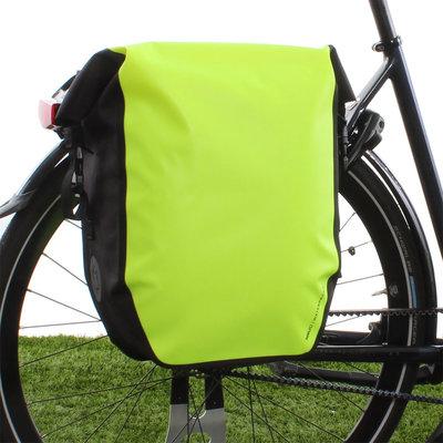 AGU Enkele fietstas Shelter Clean Large 21L Neon Geel