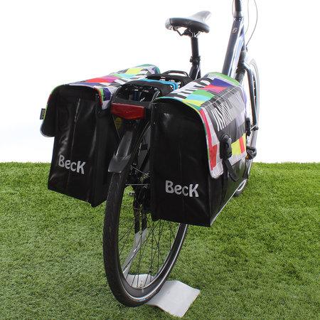 Beck Dubbele fietstas Classic Testbeeld - 46 liter