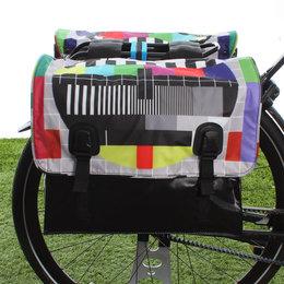 Beck Dubbele fietstas Classic Testbeeld