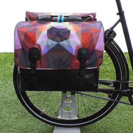 Beck Dubbele fietstas Classic Bear - 46 liter