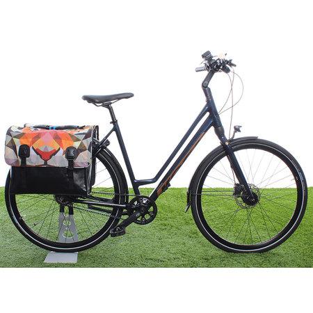 Beck Dubbele fietstas Classic Tiger - 46 liter