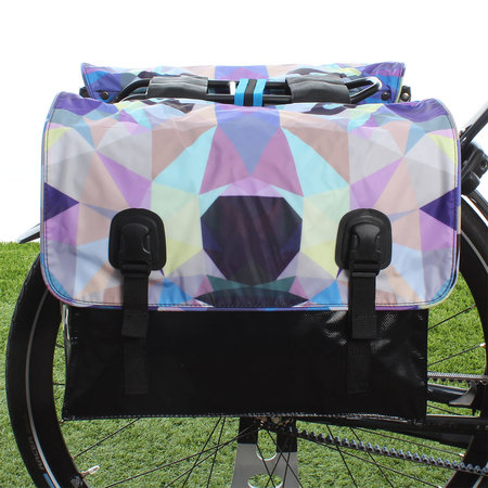 Beck Dubbele fietstas Classic Wolf - 46 liter