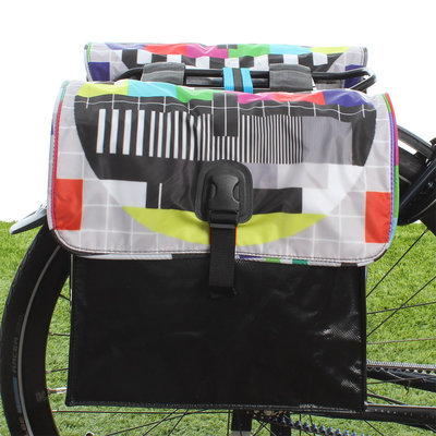 Beck Dubbele fietstas Small Testbeeld