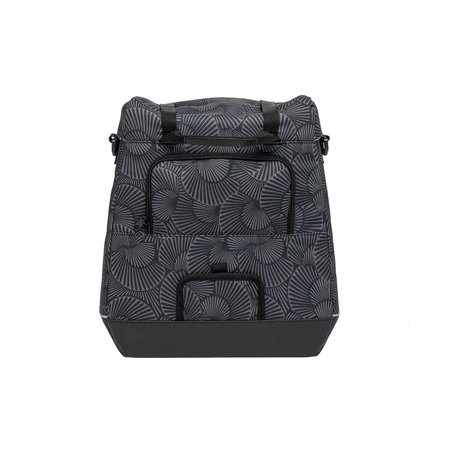 New Looxs Enkele Fietstas Alba Single Selo Black 17L - pakaftas en schoudertas