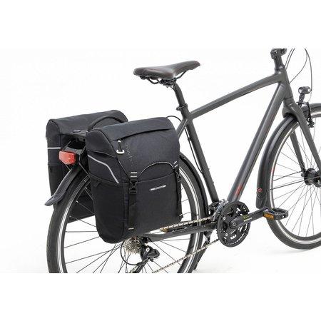 New Looxs Dubbele fietstas Sports Double Racktime 32L Zwart