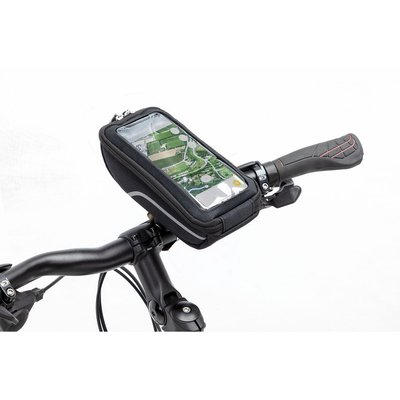New Looxs Telefoonfietstas Sports Quad 0,6L Zwart