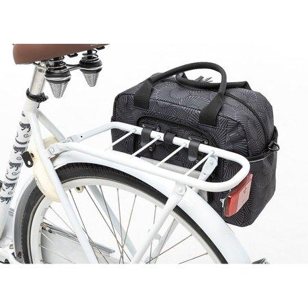 New Looxs Enkele fietstas Bari Selo Black 13L